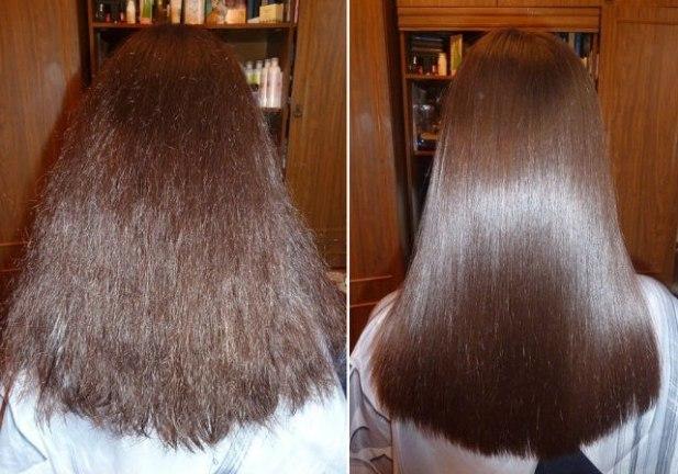 Почему после кератина волос пушится