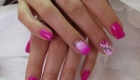 наращивание ногтей гель лак витебск